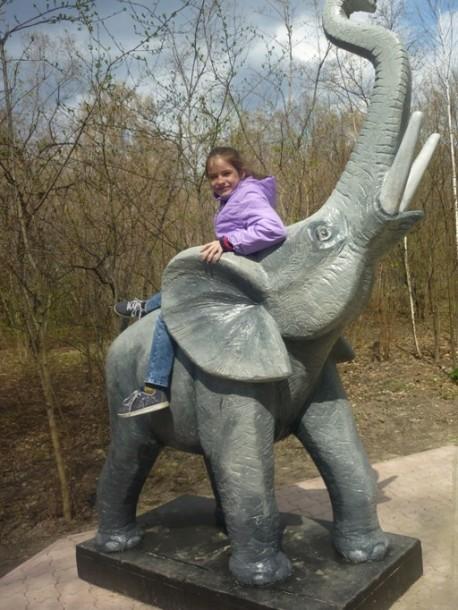симпатичный слоненок