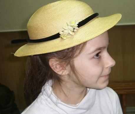я в старинной шляпке