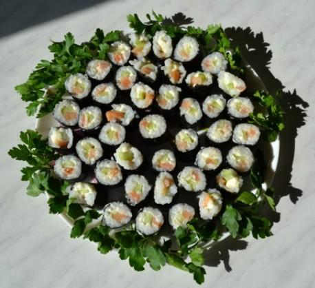 Как готовить суши фото