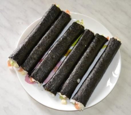 суши перед нарезкой