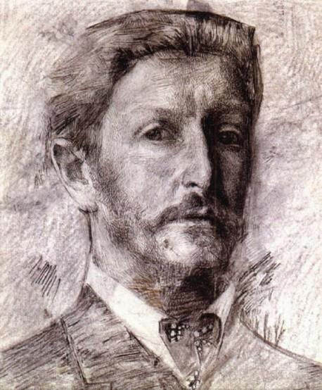 М. Врубель Автопортрет 1904
