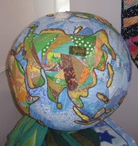 лоскутный глобус