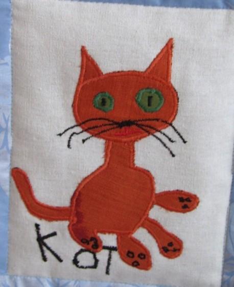 кот шитьё