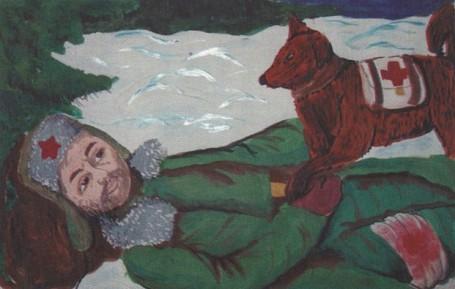 Боевые друзья. В. Киржаева, МОУ СОШ №96