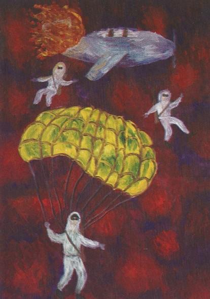 Николай Малахов в воздушных боях над Таганрогом. В.Сопова, БДШИ №1