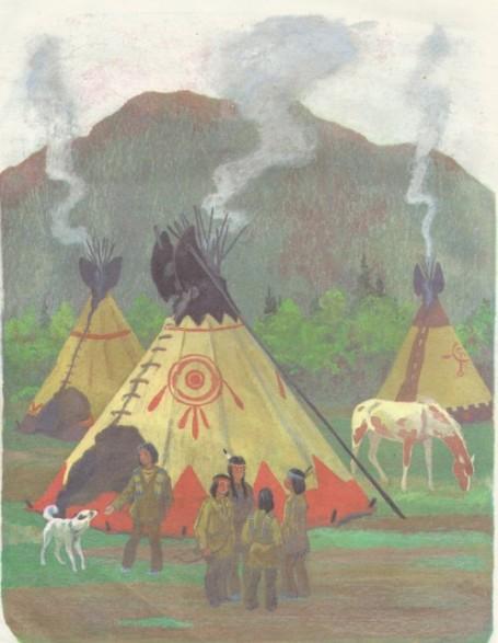 вигвам индейцы