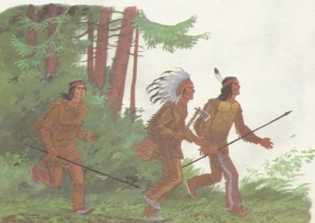 индейцы охотники