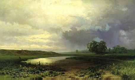Ф. Васильев. Мокрый луг. 1872 г.