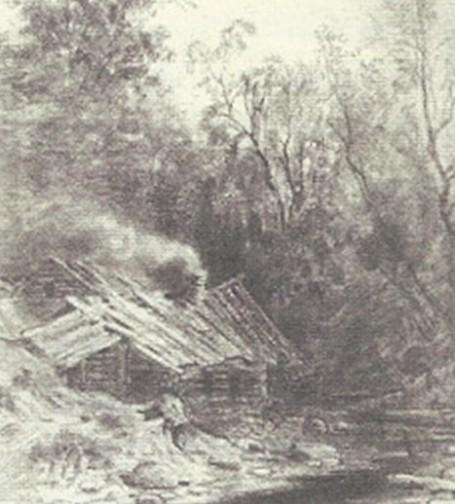 Ф. Васильев. Избушка в лесу
