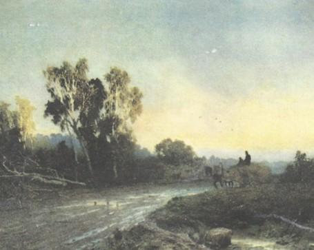 Ф. Васильев. После дождя. 1869 г.