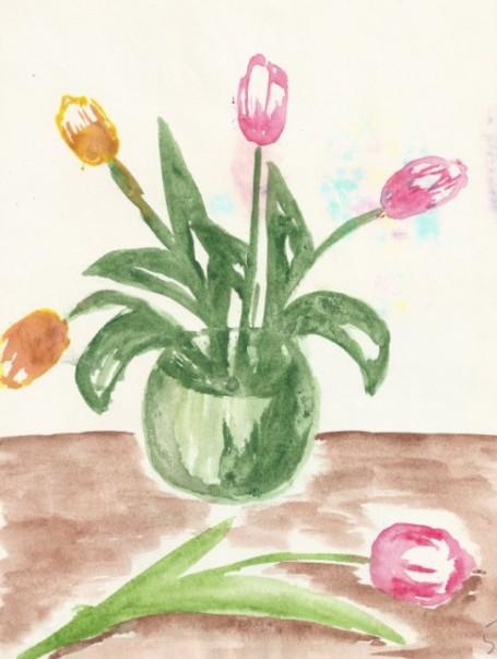Сочинение-сказка «Мой любимый цветок»