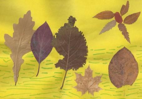 Детские рисунки об осени