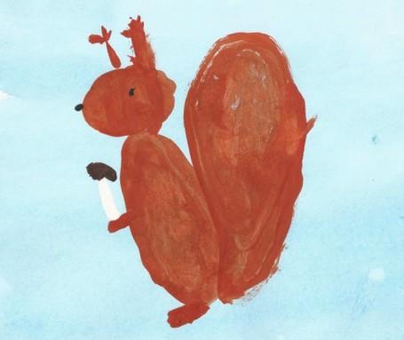 Стихи детей о животных