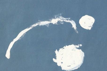 Снежные комочки. Зыкова Полина. 3 года