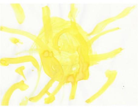 Солнышко. Зыкова Варя. 2,5 года