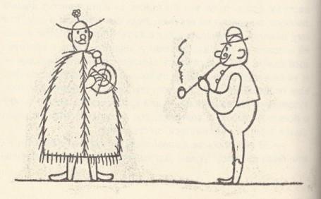 Богатый скряга, пастух и дырявая фляга