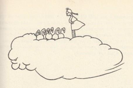 на облаке
