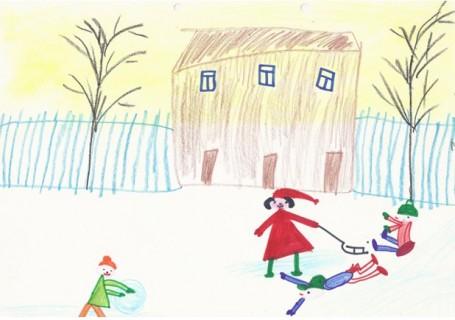 рисунок о зиме