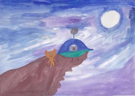 Инопланетяне Рисунок Полины Н.