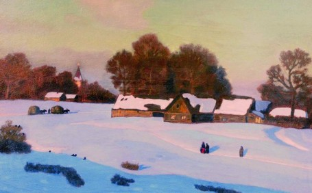 Сочинение по картине Н.П. Крымова «Зимний вечер»