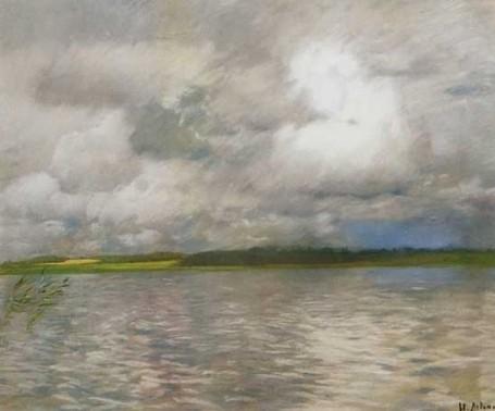 И.И. Левитан. Хмурый день. 1895 г.