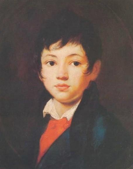О.А. Кипренский. Портрет мальчика Челищева. 1809 г
