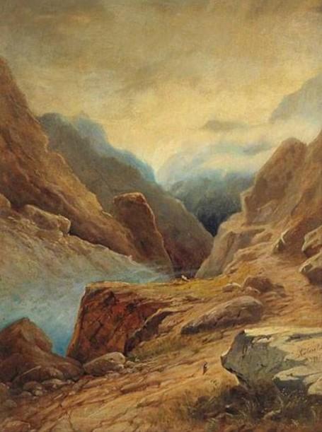 Айвазовский И.К. «Дарьяльское ущелье»
