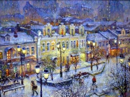 Александр Щепалин «Про зиму»