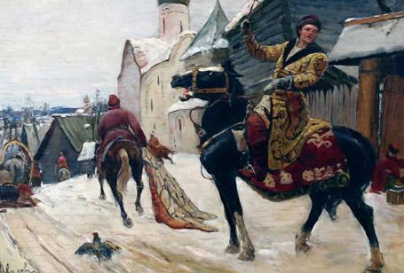 Михаил Иванович Авилов – Опричники в Новгороде